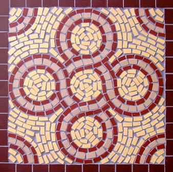 Roman mosaic s copperfield class for Designs for mosaics templates